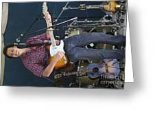 Musician Matt Turk Greeting Card