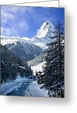 Matterhorn  Greeting Card by Brian Jannsen