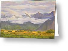Matukituki Valley Greeting Card