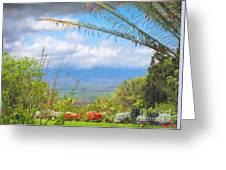 Maui Botanical Garden Greeting Card