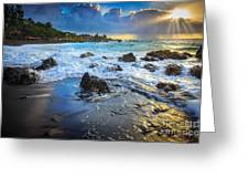 Maui Dawn Greeting Card