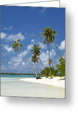Maupiti Lagoon Greeting Card
