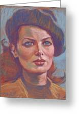Maureen O'hara Greeting Card
