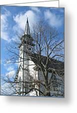 Mauricetown Church  Greeting Card