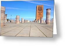 Mausoleum Of Mohammed V Greeting Card