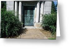 Mausoleum Greeting Card