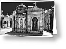 Mausoleums 2 Greeting Card