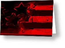 Max Americana In Red Greeting Card