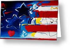 Max Americana Greeting Card