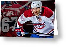Pacioretty Poster Greeting Card