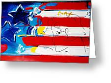 Max Stars And Stripes Greeting Card