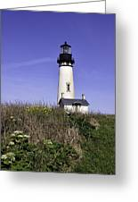 May At The Lighthouse Greeting Card