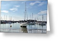 May Morning - Lyme Regis 2 Greeting Card