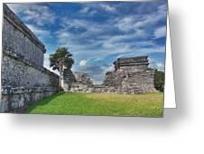 Mayan Memories Greeting Card