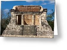 Mayan Palace Greeting Card