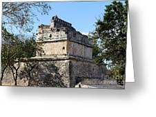 Mayan Ruin At Chichen Itza Greeting Card