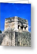 Mayan Ruins Greeting Card