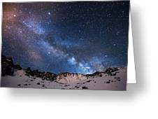 Mayflower Gulch Milky Way Greeting Card