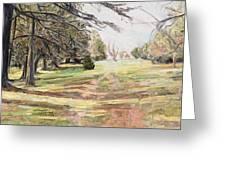 Maymont Landscape Greeting Card