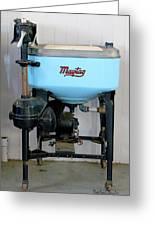 Maytag Washing Machine Greeting Card