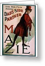 Mazie Greeting Card