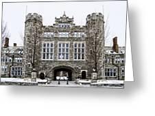 Mcbride Gateway - Bryn Mawr College Greeting Card
