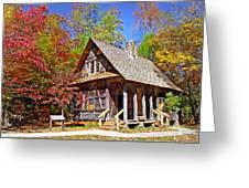 Mccall Cabin Greeting Card