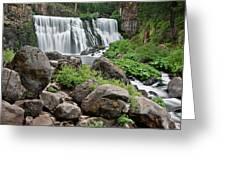 Mccloud Falls Greeting Card