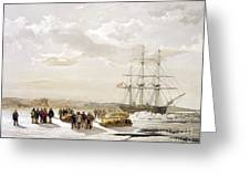 Mcclure Arctic Expedition, 1850s Greeting Card