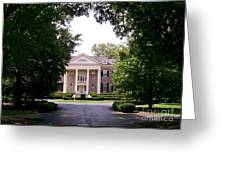 Mccormick Mansion From The Drive Greeting Card