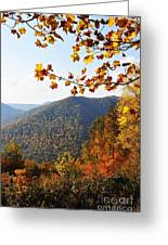 Mcguire Mountain Overlook Greeting Card