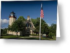 Mcgulpin Lighthouse Greeting Card