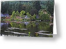 Mcintosh Lake In Washington Greeting Card
