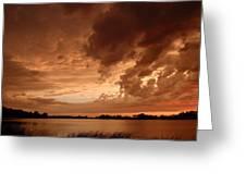 Mciver Lake Greeting Card