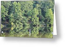 Mckamey Lake Serenity Greeting Card