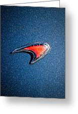 Mclaren Emblem -0247c45 Greeting Card