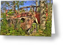 Mcleans Auto Wrecker - 1 Greeting Card