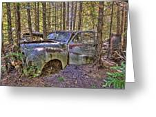 Mcleans Auto Wrecker - 3 Greeting Card