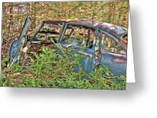 Mcleans Auto Wrecker - 4 Greeting Card
