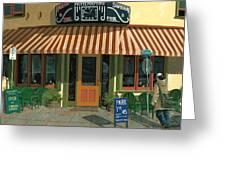 Mcmenamin's Tavern Greeting Card by John Wyckoff