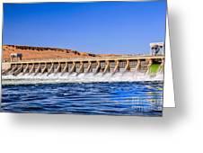Mcnary Dam Greeting Card