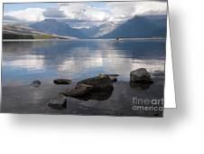 Mcdonald Lake Greeting Card