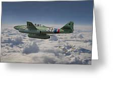 Me 262 - Stormbird Greeting Card