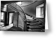 Meade Staircase Greeting Card