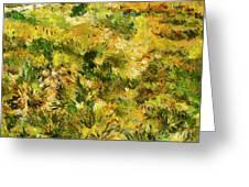 Meadow After Van Gogh Greeting Card