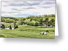 Meadow II Greeting Card by Chuck Kuhn