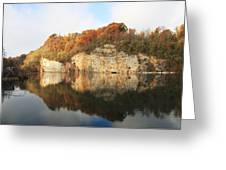 Mead's Quarry In Autumn Greeting Card