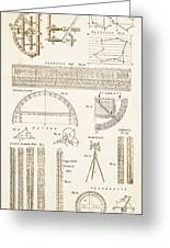 Measuring Instruments And Techniques. Greeting Card