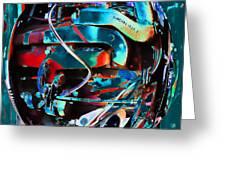 Mechanical Sphere Greeting Card