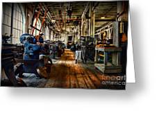 Mechanical Works Greeting Card